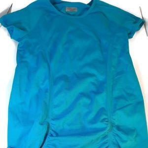 Athleta Workout Shirt Blue Size L
